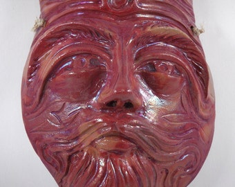 wall mask - chinese master inspired
