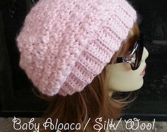 Womens Crochet Hats Womens Crochet Slouchy Beanie Hat Womens Hat Crochet Womens Slouchy Beanie Crochet Hats Crochet Slouchy Beanie Hats Pink