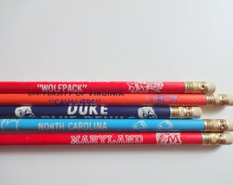 Vintage Pack of College Pencils 1980s