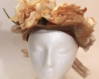 Vintage Ladies Hat by Mrs Eugene Gray Probably 1930's-40's