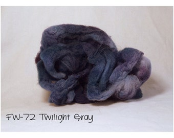 Felting Wool: FW-72 Twilight Gray