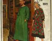 Givenchy Vogue Paris Original dress pattern 2372 size 12 free shipping US