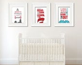 Dr. Seuss set of 3 wall a...