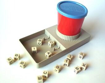 "Vintage ""Spill & Spell"" Crossword Game, Parker Brothers"