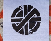 Small Crass Sew on Patch