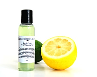2oz Fresh Citrus Face Cleansing Gel