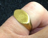 Ancient Viking Man's Pinky Ring  C.866-1067A.D. Size 7 1/2   (17.6mm)(Brr1098)