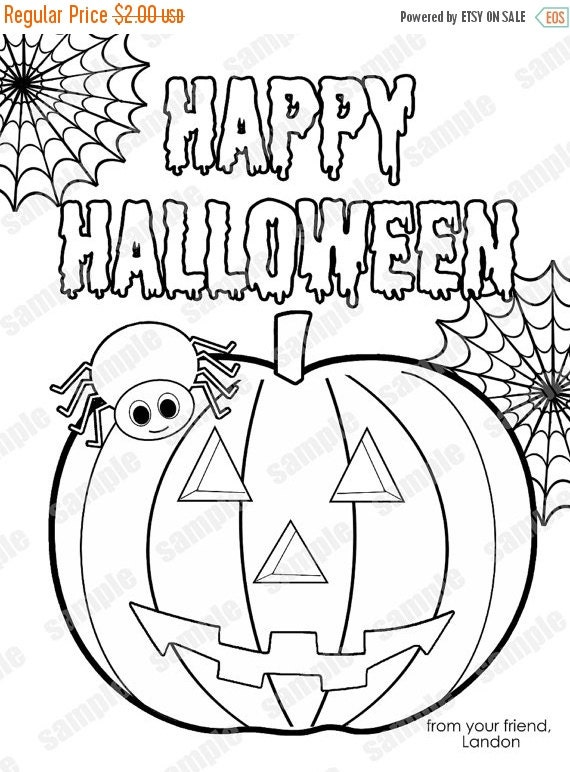 Halloween Party Printables For Kids