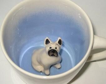 French Bulldog Surprise Mug (Made to Order)