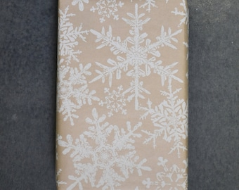Woodland Snowflakes Holiday Wrapping Paper, 2 x 10 Feet - Woodland Holiday Collection