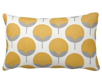 yellow grey pillows, 12x24 in pillows, 12x18 in pillows, outdoor lumbars, pillow covers, flower pillows, modern pillows, grey white pillows