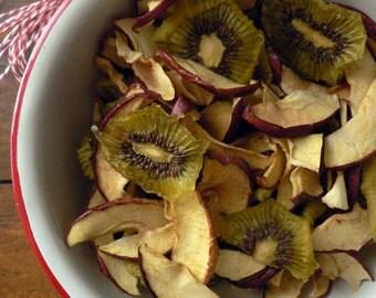 100g - Mélange pomme/Kiwi déshydratés pour lapins