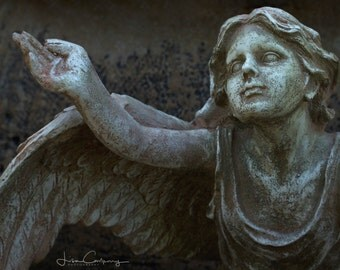 Inspirational, Guardian Angel, 16 inch by 20 inch fine art photo, signed by me