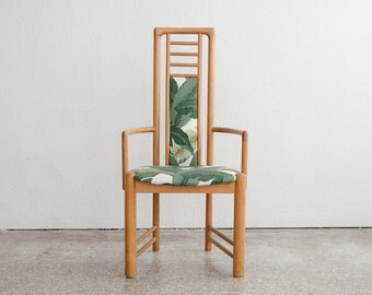 Mid Century Danish Teak Palm Chair