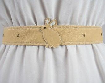 Rabbit Belt ~ Handmade  ~ Now 10% OFF! ~ Bunny