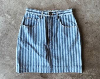90s Stripe Skirt