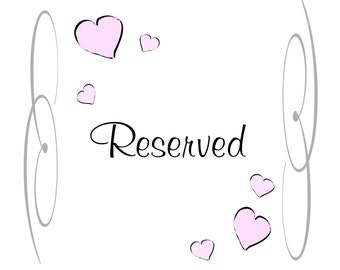 Reserved for YvetteWood