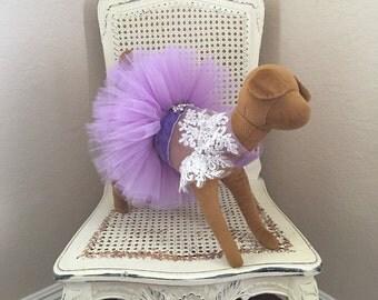 Coup de Foudre Dog Dress, Lilac
