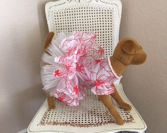 Cheeky Bows Dog Dress