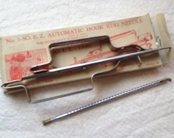 No. 3-So. E. Z. Automatic Hook Rug Needle