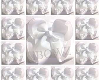 Buy 10 soild hairbows get 1 free ~southern big hairbows, boutique style bow, mega bow, girl, cheer bows, cheer, dance, girl June Free ship