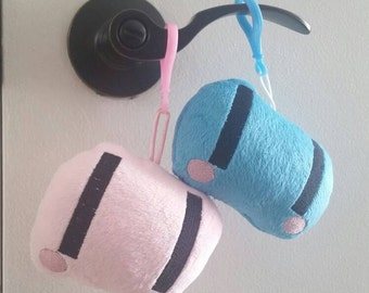 Clanned Dango inspired plushie keychain