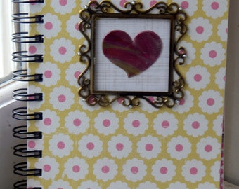 5 x 7 LIned Heart Journal