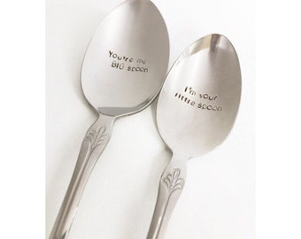 CLEARANCE Couples Spoon Set