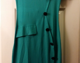 Form Fitting Green Dress