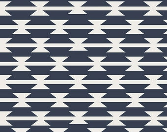 Changing Pad Cover- Navy Tomahawk, Tribal, Western