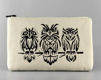 Embroidered Pouch / Purse / Bag