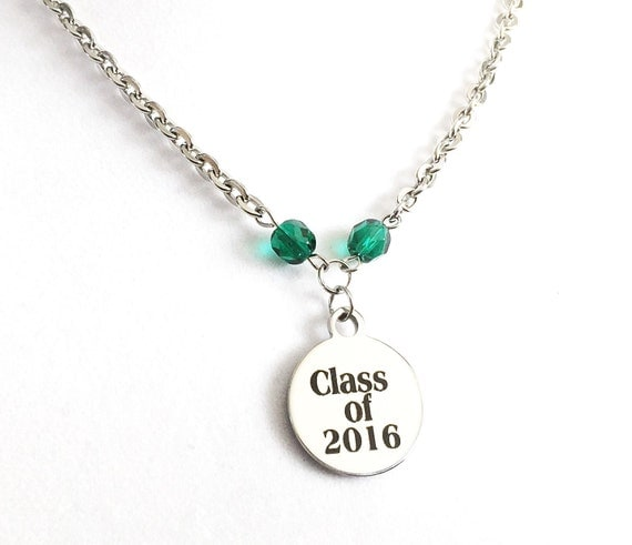 graduation gift 2016 class of 2016 jewelry by 2bebeadedbysana. Black Bedroom Furniture Sets. Home Design Ideas