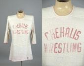 60s Wrestling Jersey Chehalis Washington Athletic Supply Cotton High School Football Jersey
