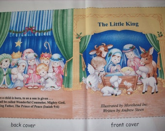 cloth storybook panel to make-The Little King
