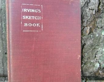 Antique Book - The  Sketch Book - Washington Irving