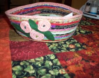 fabric pottery