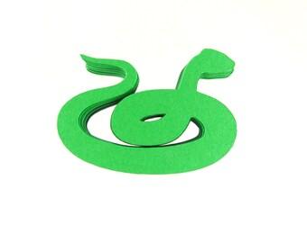 """2.5"""" Snake Die Cuts set of 25"""