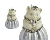 Crazy Cat Lady ornament altered art doll cat art anthropomorphic by Elizabeth Rosen