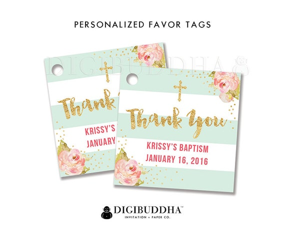 Favor tags baptism favor tag thank you tag baby shower favor tags favor tags baptism favor tag thank you tag baby shower favor tags label tags gift tags bridal shower tags diy printable or printed krissy negle Gallery