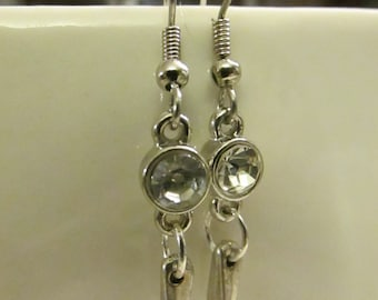 Cute Metal Dangle Earrings