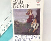 Wuthering Heights - Emily Bronte - Classic reading - Home Decor - vintage book