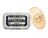 Beard Balm and Brush Set, Beard Care Set, All Natural Beard Care Products, Handmade in Ireland
