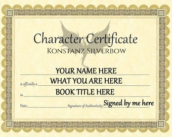 Be a Character in a Book!