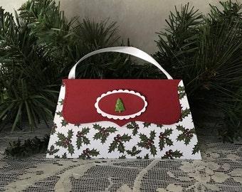 Christmas gift card/money holder