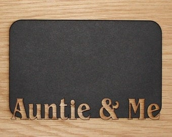 5x7 auntie me mat insert fits into a picture frame aunt frame aunt auntie aunt gift i love my aunt aunt to be gifts for aunts