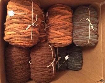 Hand Dyed Alpaca Rug Yarn