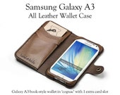 Galaxy A3 Leather Wallet ...