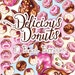 Delicious Donuts Scrapbook Paper Pack