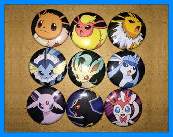 Pokemon Eeveelutions Magnet Set