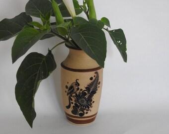 Mexican Pottery Bird Decor Vase